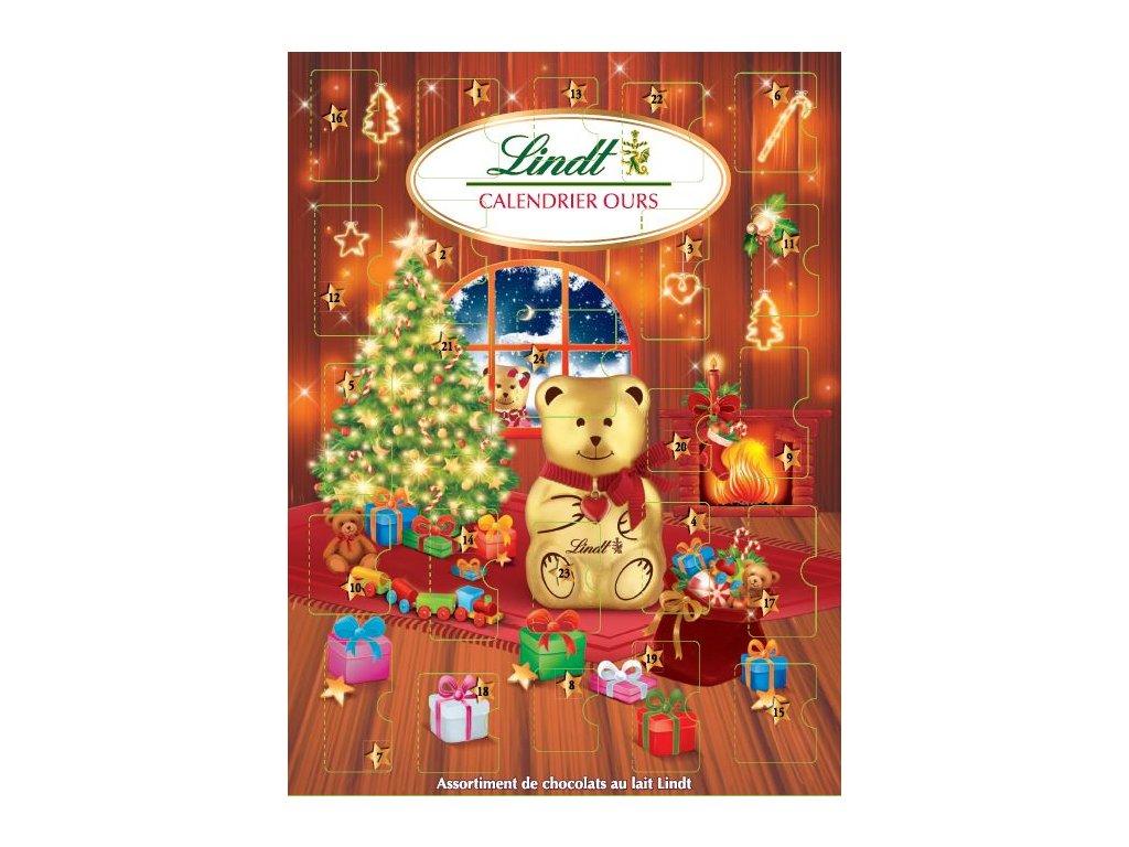 Lindt Adventní kalendář Teddy stromeček 172g