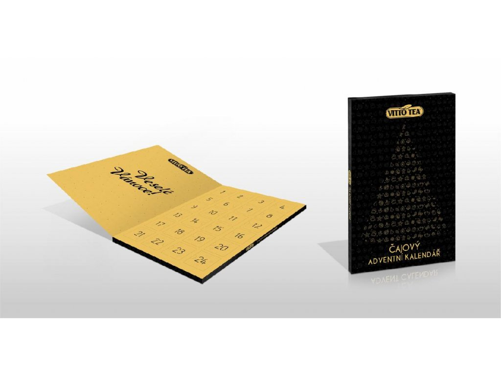 Vitto Tea Čajový adventní kalendář 94g