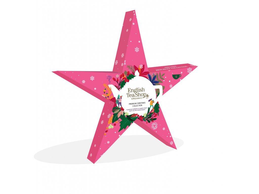 English Tea Shop Červená vánoční hvězda 12g