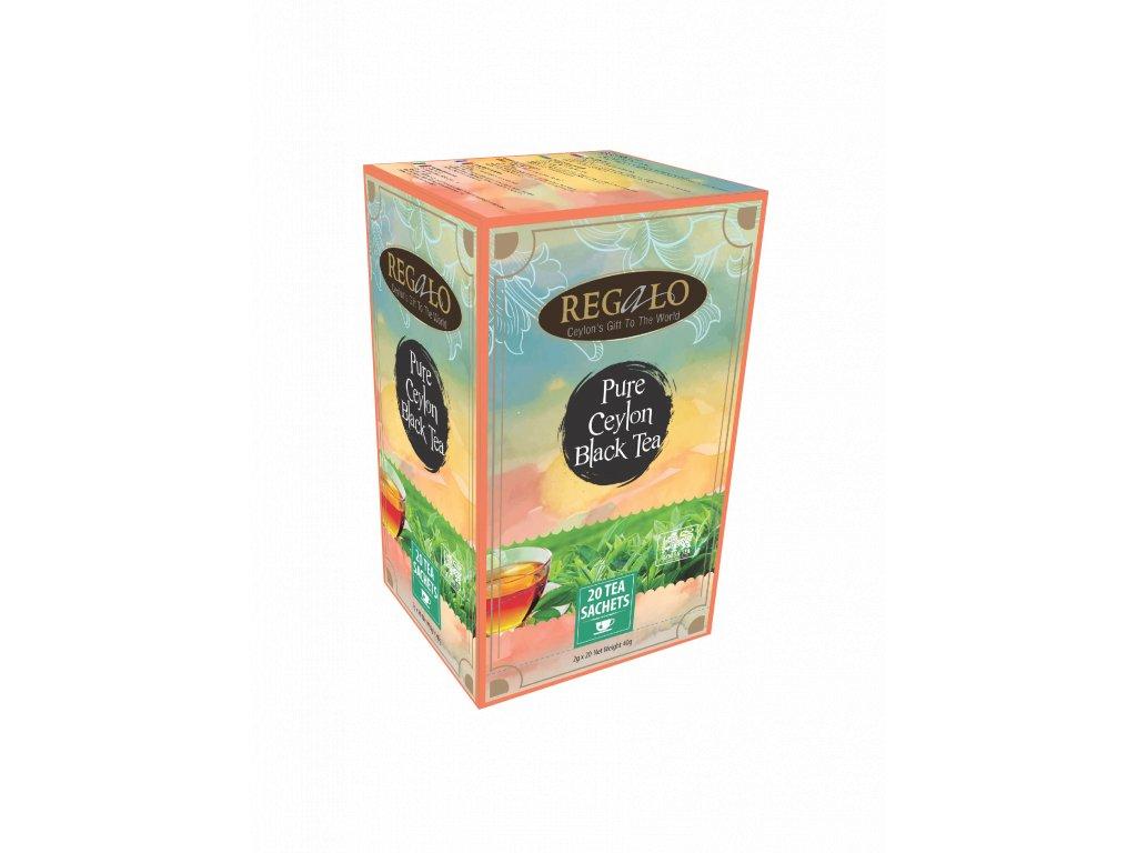 Regalo Pure Ceylon Black tea Černý čaj 20x2g