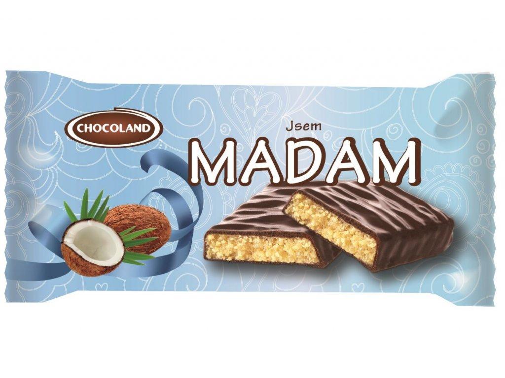 Chocoland Jsem Madam Kokosovo-rumová tyčinka 50g