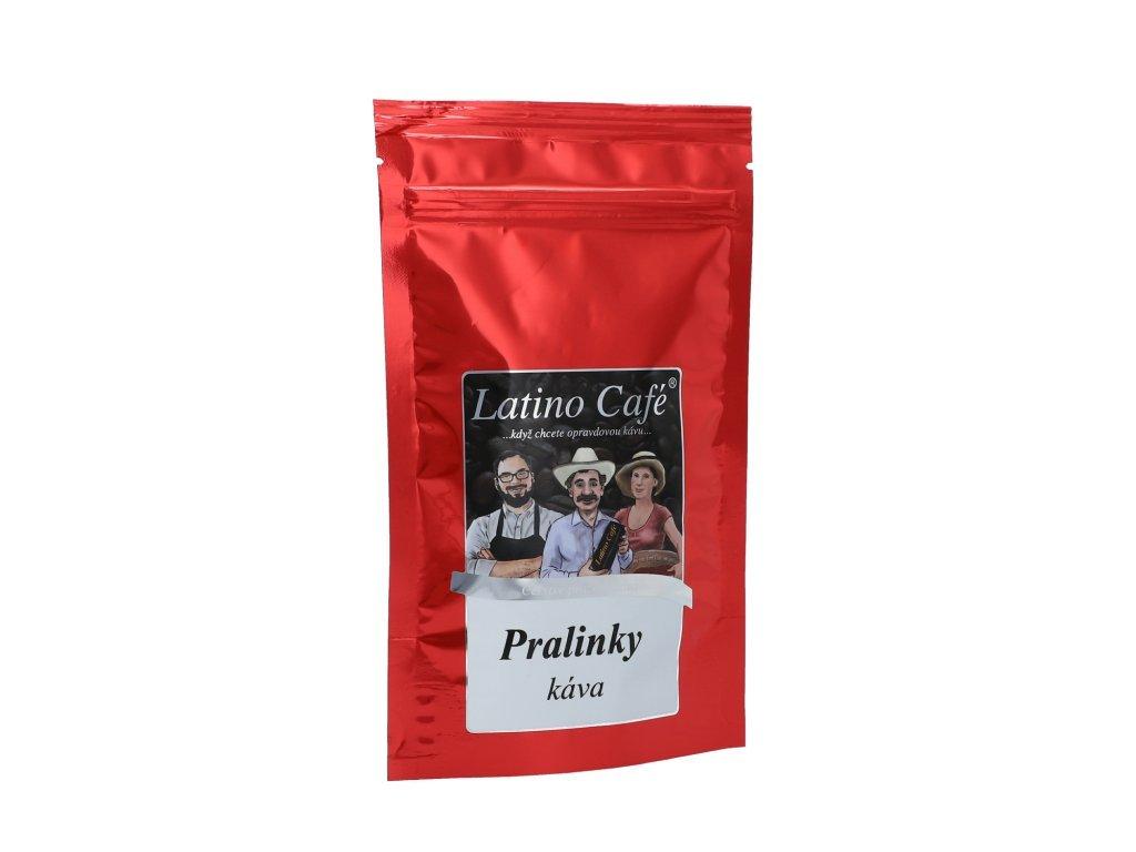 Latino Café Aromatizovaná zrnková káva Pralinky 100g