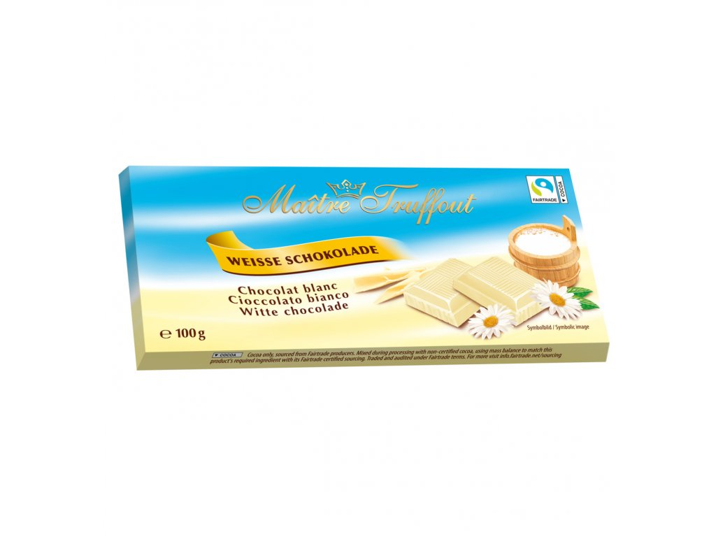 Maitre Truffout Bílá čokoláda 100g