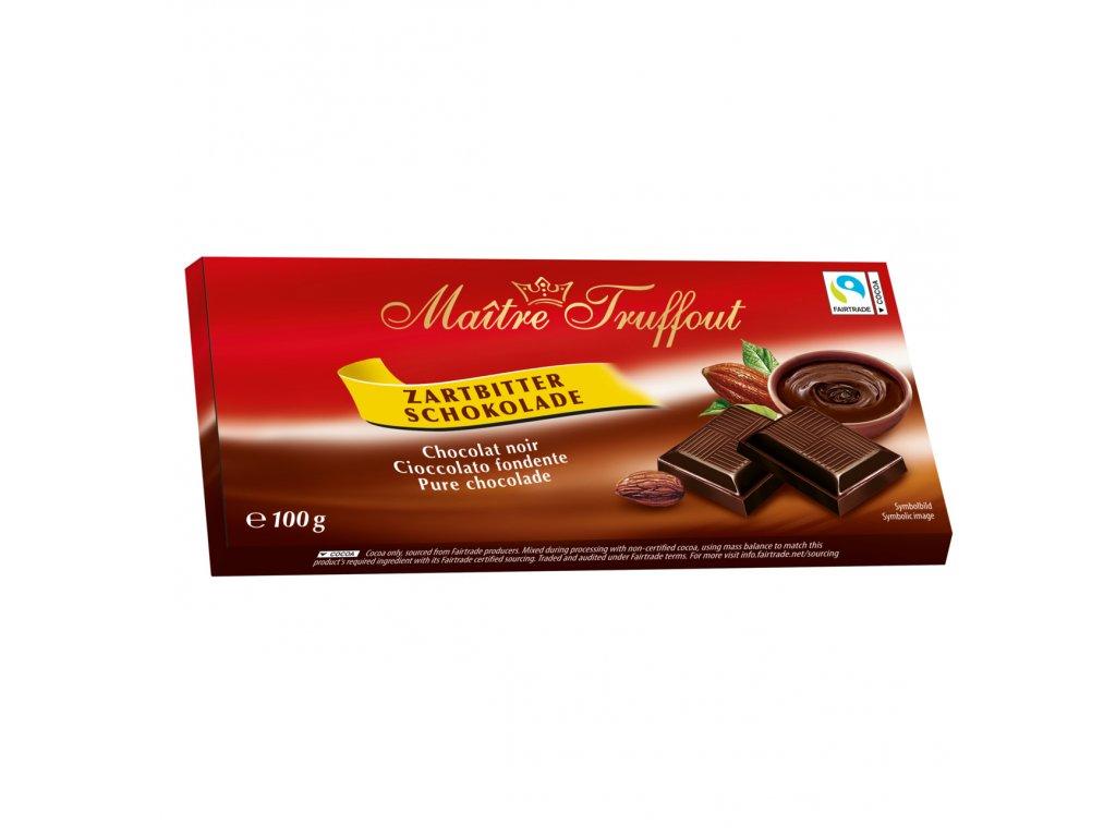 Maitre Truffout Hořká čokoláda 100g