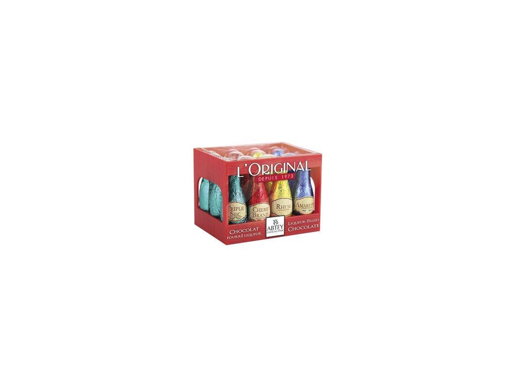 Abtey Case Likérové lahvičky 108g Red