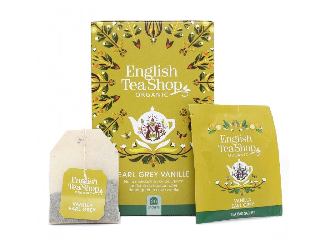 English Tea Shop Čaj Earl Grey s vanilkou Mandala 20ns