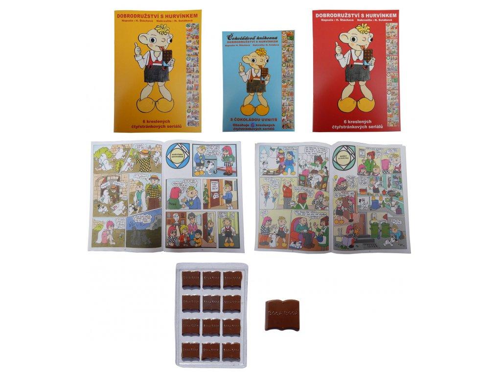 Čokoládová knihovna Hurvínek 60g
