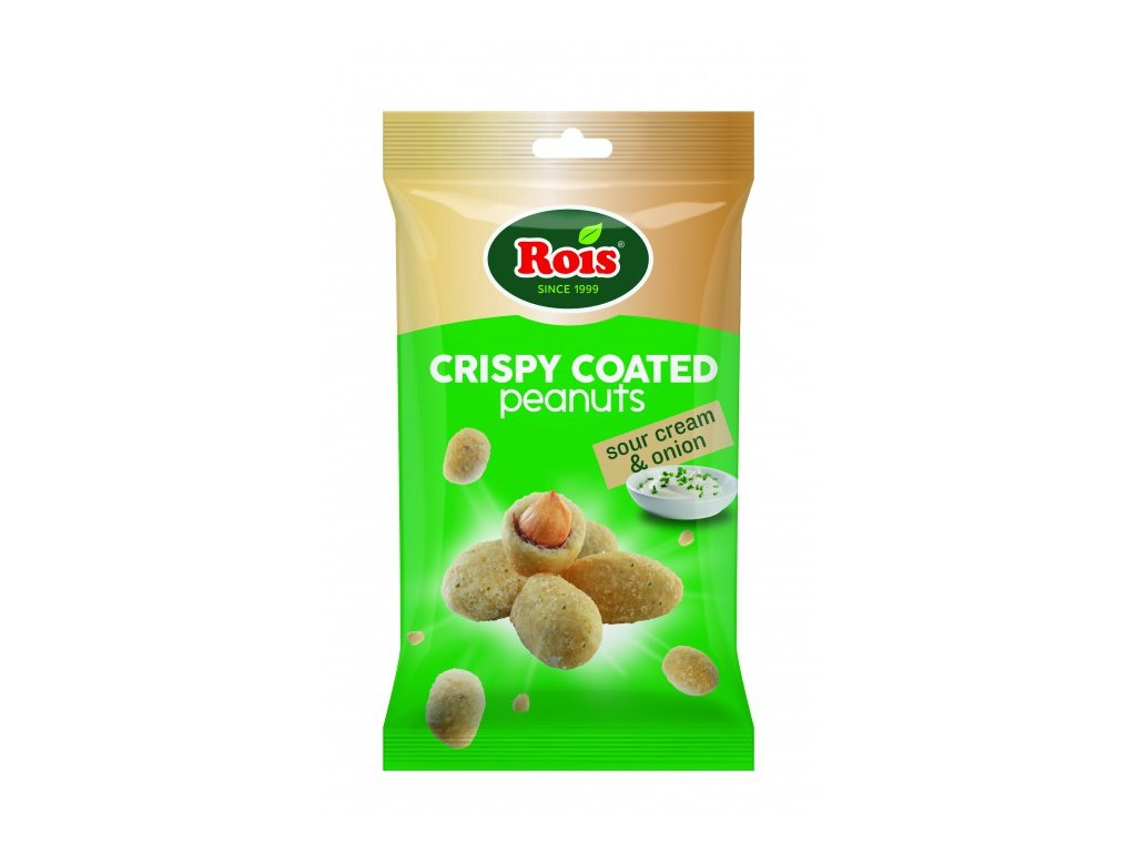 Rois Arašídy v těstíčku Sour Cream Onion 80g