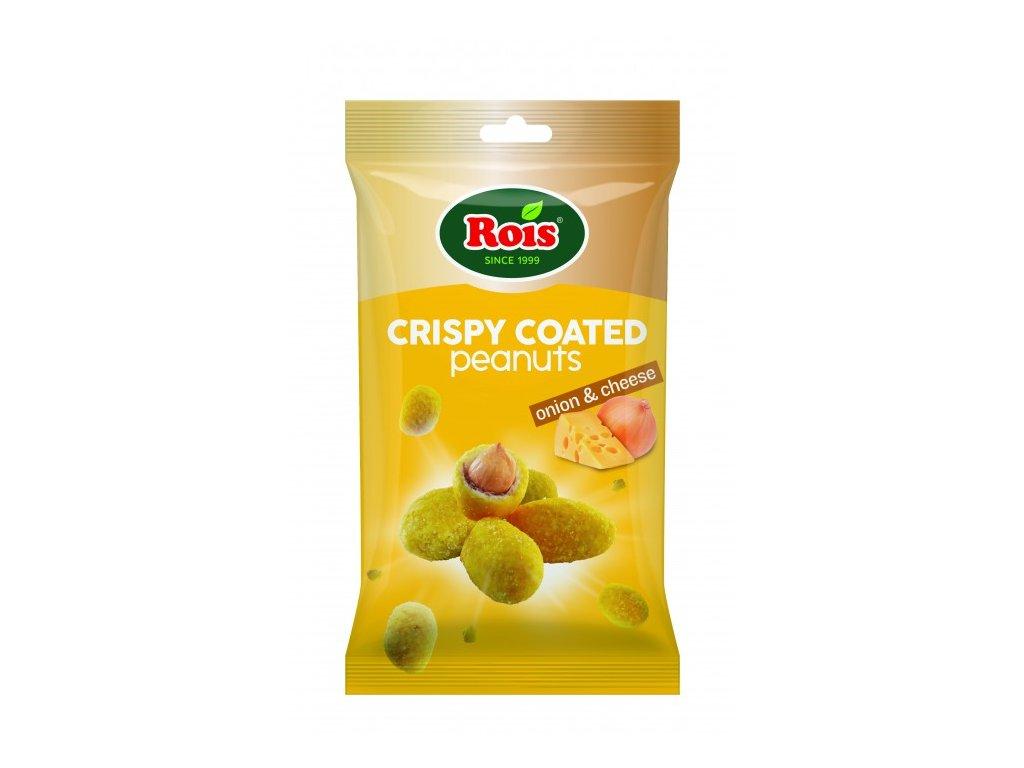 Rois Křupavé Arašídy v těstíčku Onion Cheese 80g