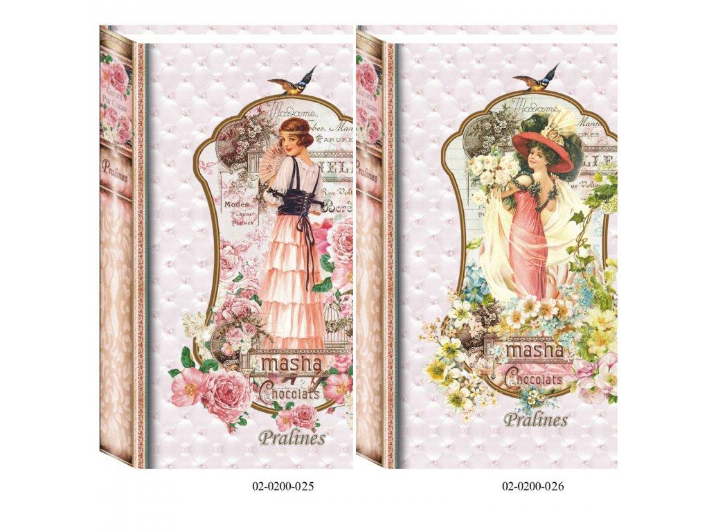 Masha Bonboniéra Kniha žena new 200g