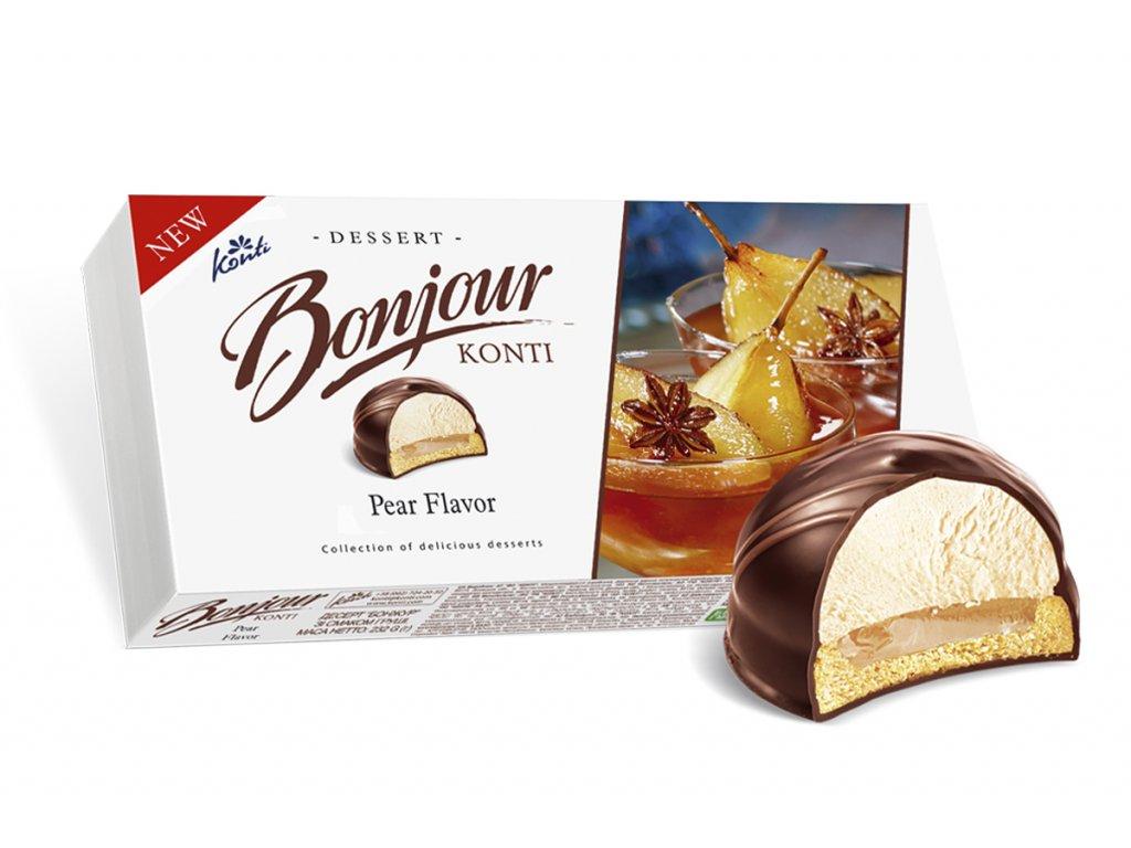 Konti Dessert Bonjour Hruška 232g