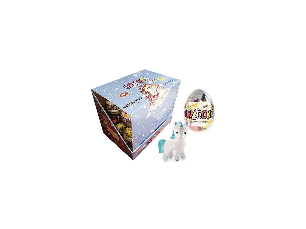 Unicorn egg toy plastové vajíčko 10g