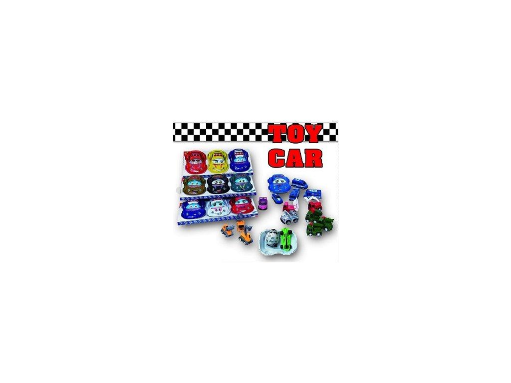 Toy Car Chocolate Autíčko s čokoládou a hračkou 15g (display 3ks)
