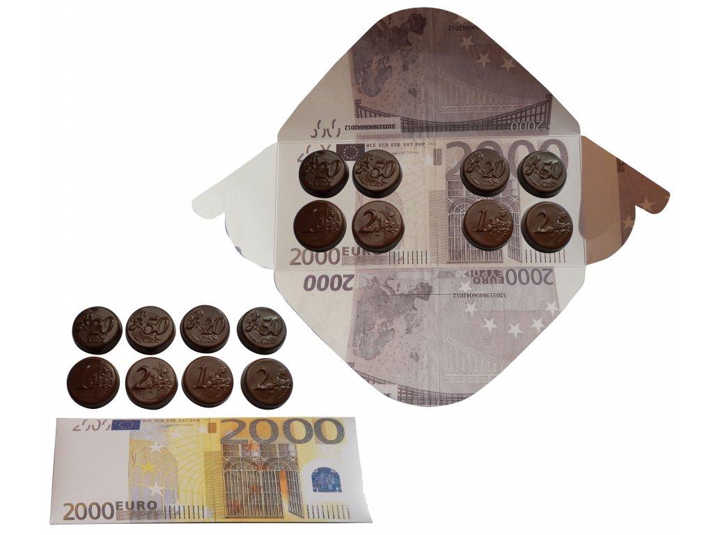 Fikar bankovka 2000 Euro 60g