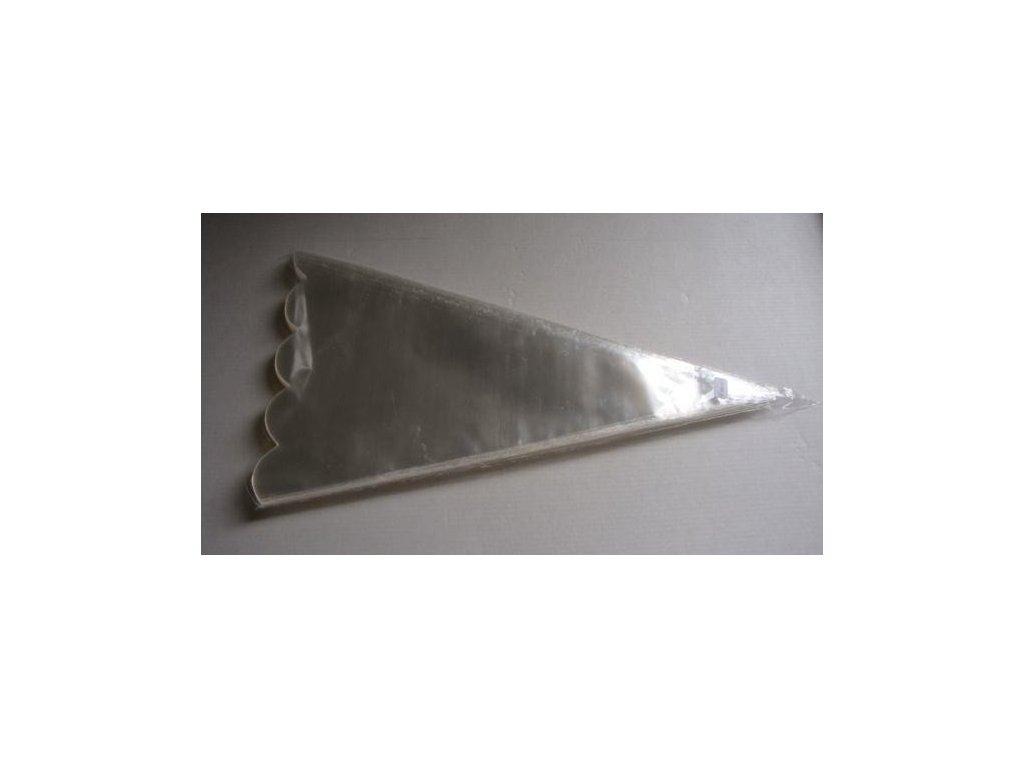 Kornout PP 22 x 45 cm - 50 my - výsek (100 ks/bal)