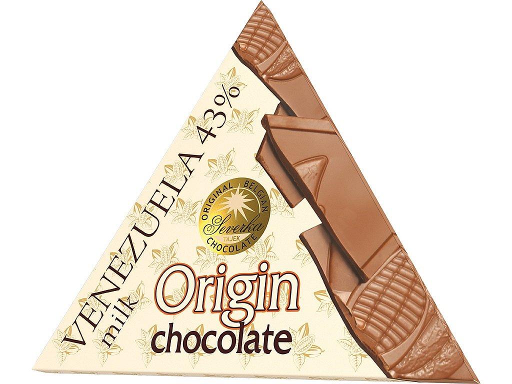Severka Mléčná čokoláda Origin Venezuela 50g