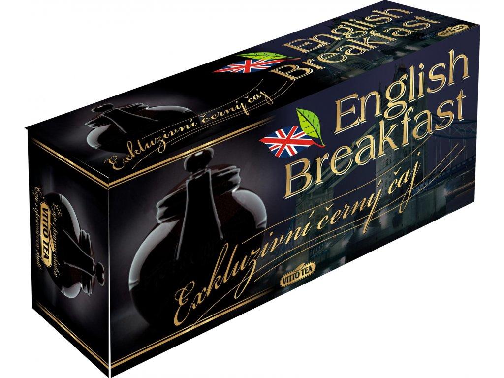 VITTO TEA ČAJ Černý čaj ENGLISH BREAKFAST 120g(80x1,5g)