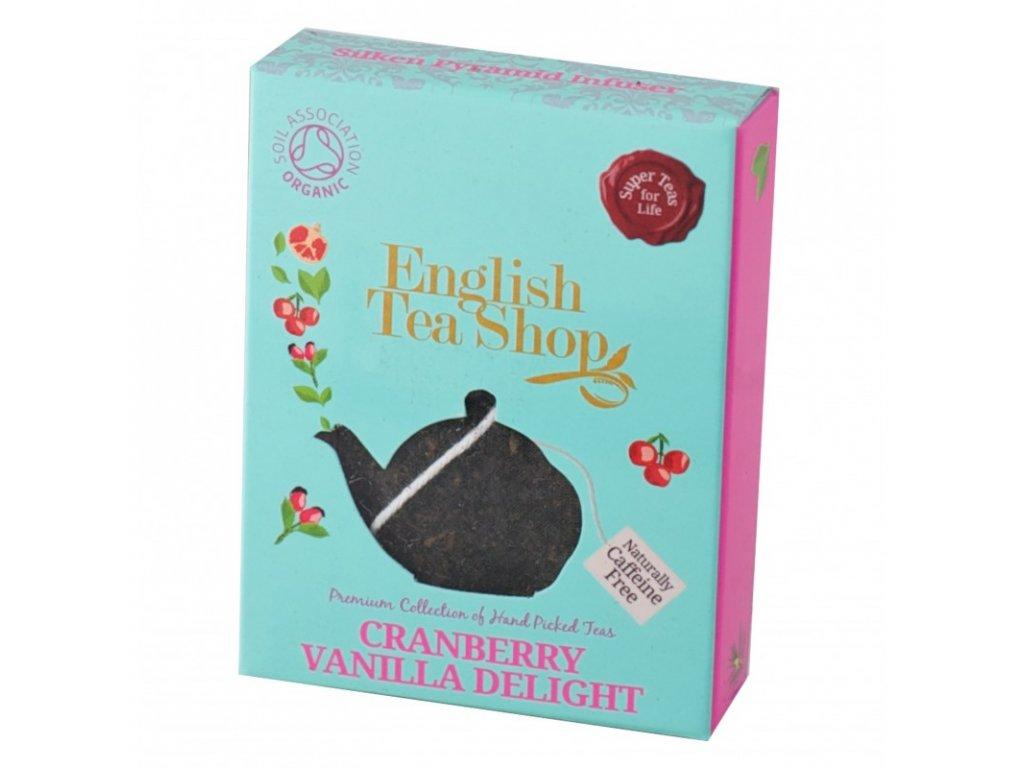 English Tea Shop Brusinky a vanilka pyramidový sáček 1ks