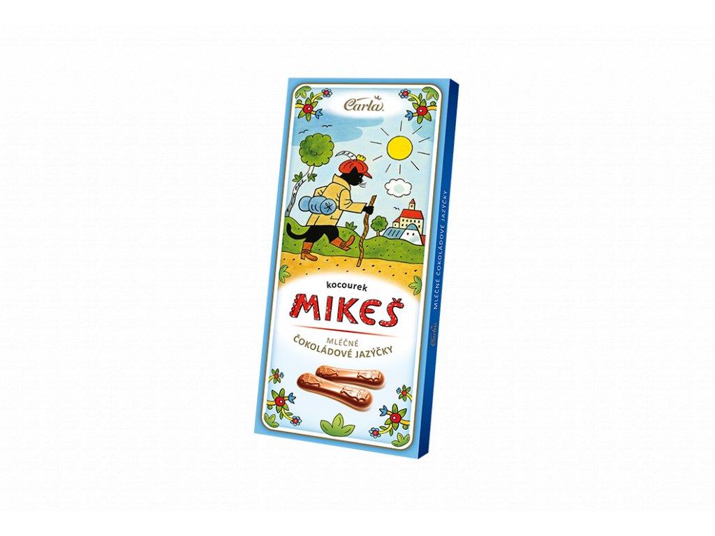 Carla Chocolate mléčné čokoládové jazýčky Kocour Mikeš 50g