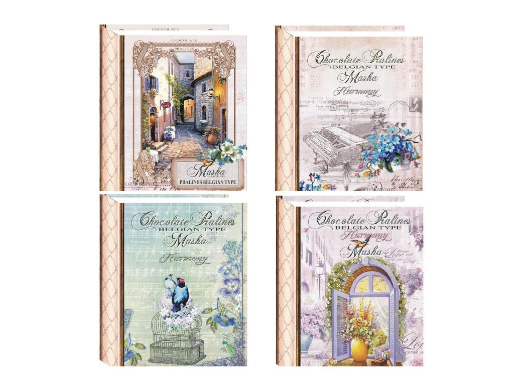 Masha bonboniéra Kniha New Design 85g