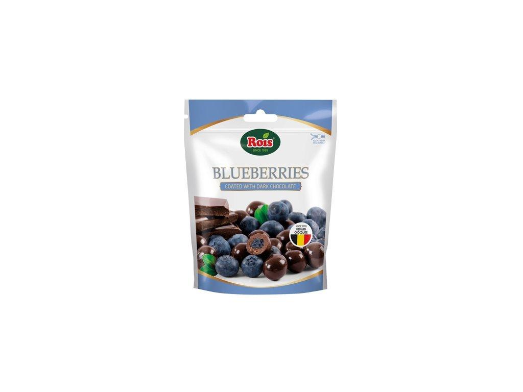 Rois Borůvky v belgické hořké čokoládě 100g
