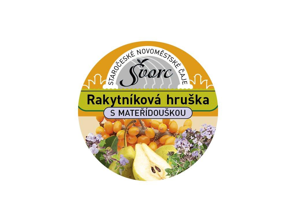 Švorc pečený čaj Rakytníková hruška 55ml
