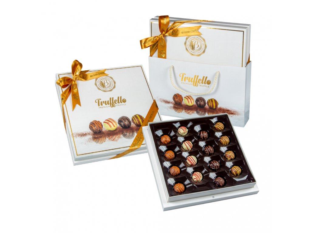Bolci Truffello Čokoládové koule s náplní 216g