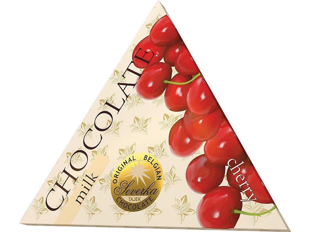 Severka Mléčná čokoláda s třešněmi 50g