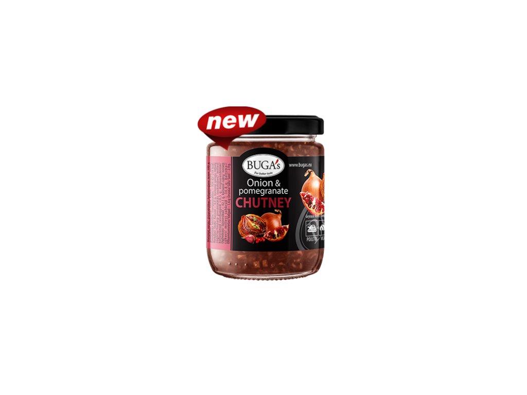 Bugas Onion Pomegranate chutney 170g
