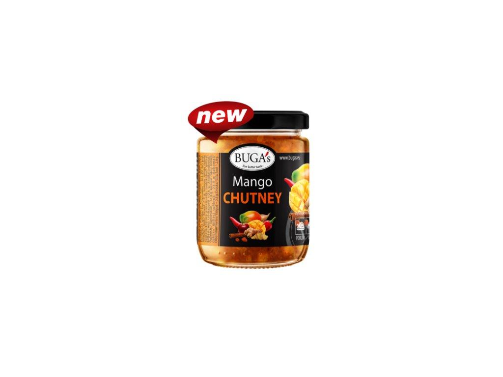 Buga's Mango chutney Čatní s mangem, zázvorem a chilli 170g