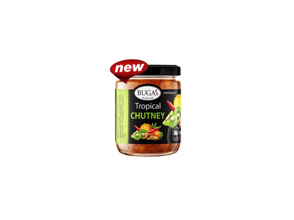 Buga's Tropical Chutney Čatní s tropickým ovocem a zázvorem 160g