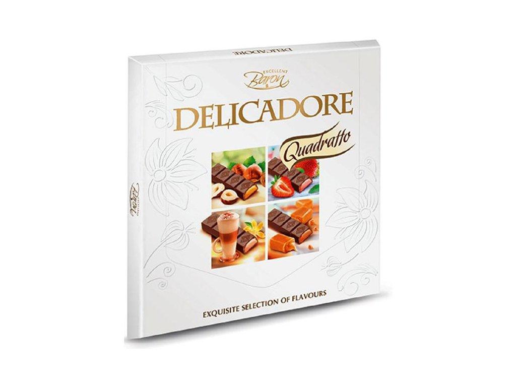 Bonboniéra Delicadore Quadratto 200g