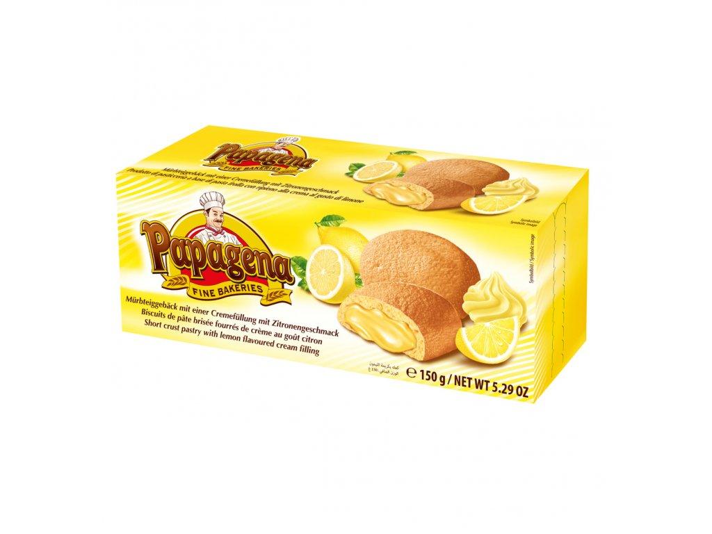 Papagena Sušenky s citrónovou náplní 150g