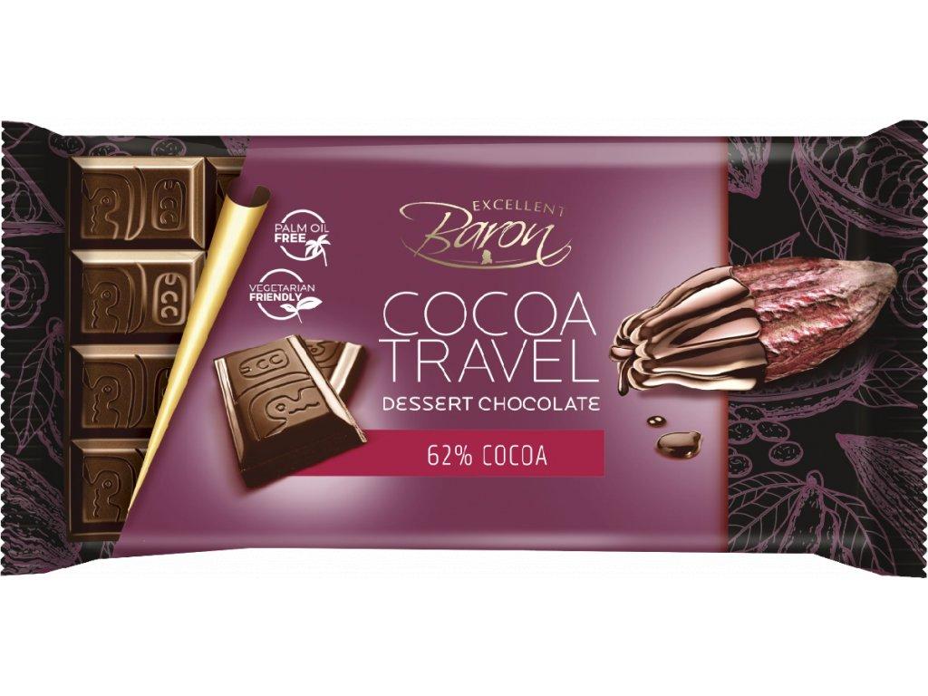 Baron Cocoa Travel Dessert 62% 90g