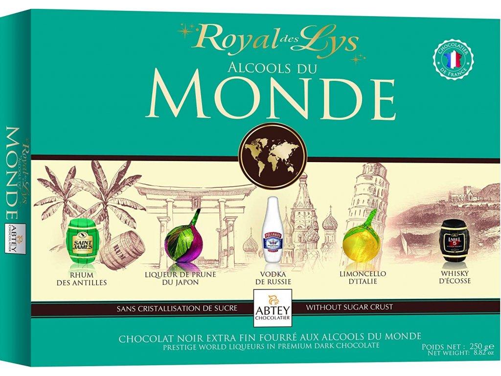 Abtey Roal Monde Výběr světových likérů 250g