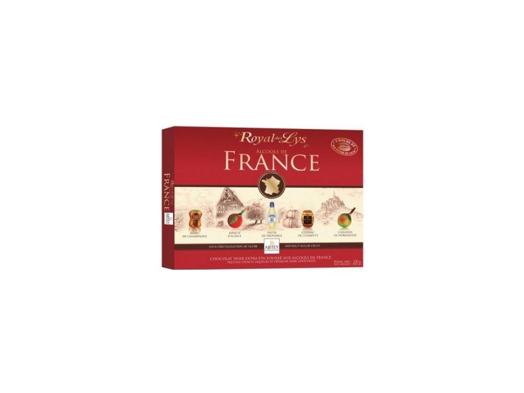 Abtey France Likérová bonboniéra 250g
