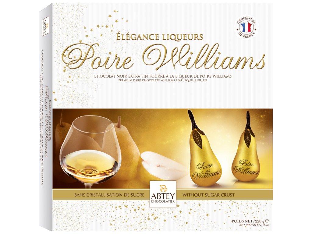 Abtey Poire Williams Prémiové likérové hrušky 220g