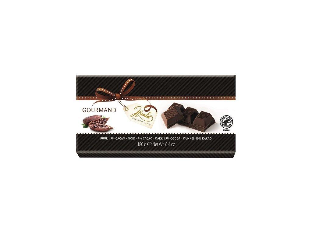 Tabulková čokoláda Hamlet hořká 49% 180g