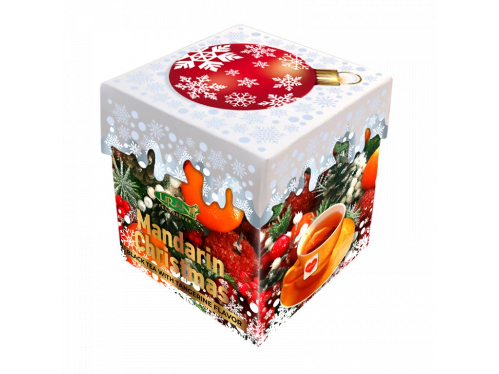 Liran Mandarin Christmas Sypaný černý čaj 40g