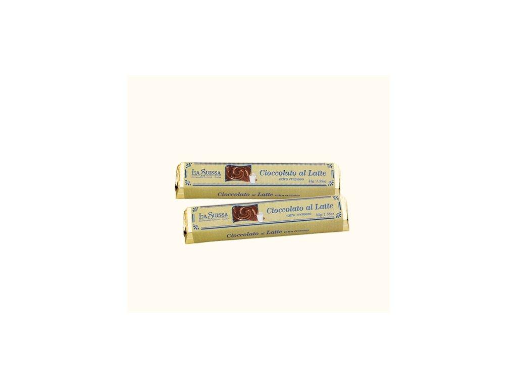 La Suissa Mléčná čokoládová tyčinka 45g