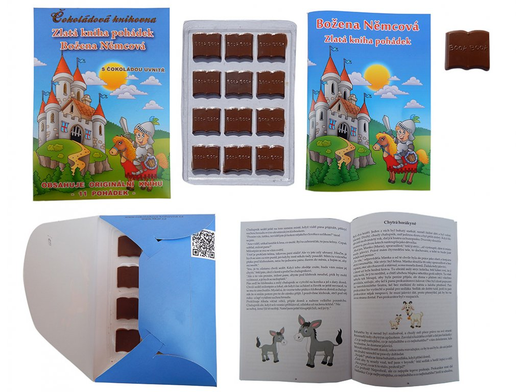 Čokoládová knihovna 60g Božena Němcová