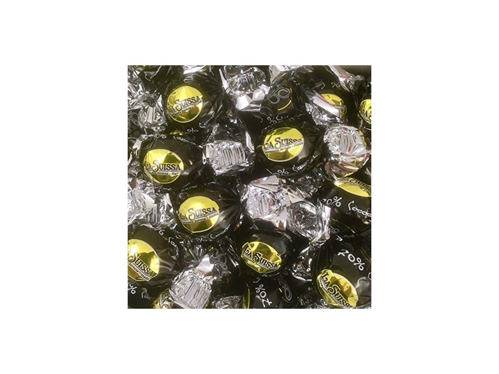 La Suissa Sospiri Extra hořké čokoládové pralinky 70% 1kg