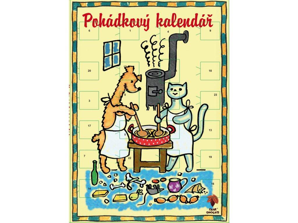 Adventní kalendář Povídání o pejskovi a kočičce 50g