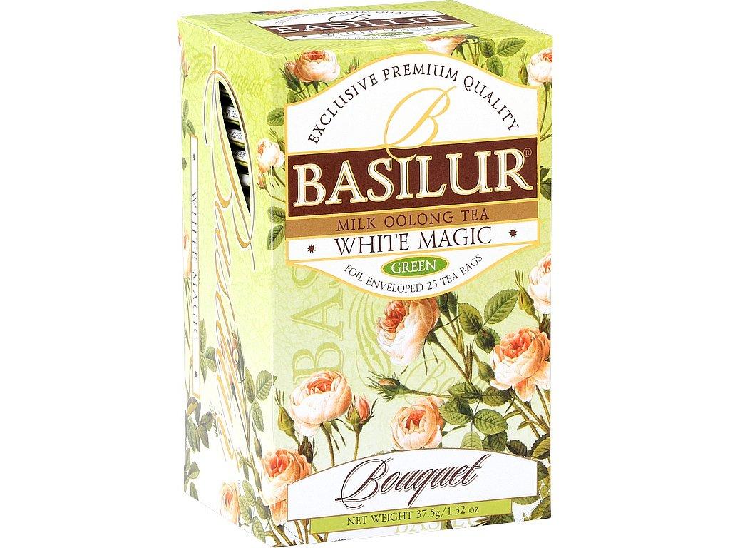 Basilur Bouquet White Magic přebal 25x1,5g