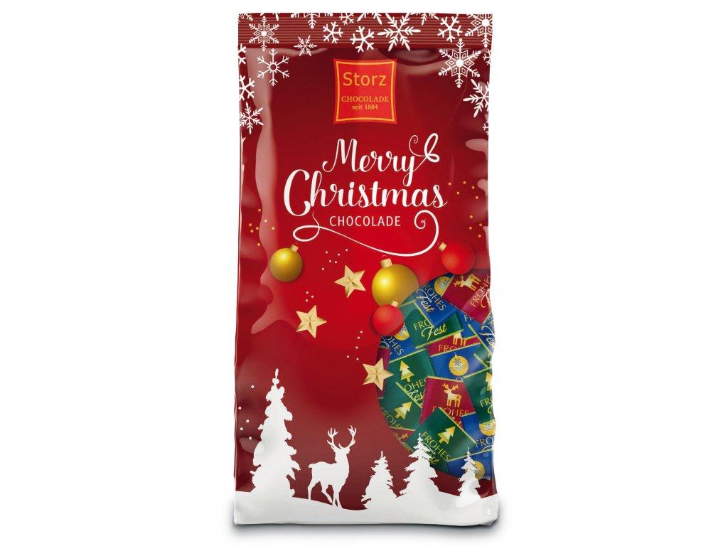 Storz Merry Christmas Vánoční čokoládky sáček 90g