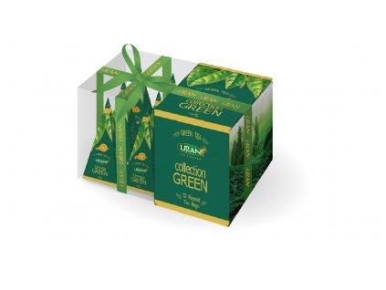 Liran pyramidové Zelené čaje 3x4x2g