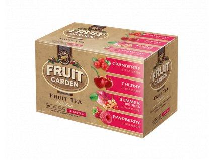 Golden Elephant Fruit Tea ovocná čajová kolekce 20x2g