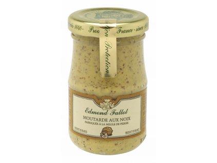 Edmond Fallot Dijonská hořčice s vlašskými ořechy 210g