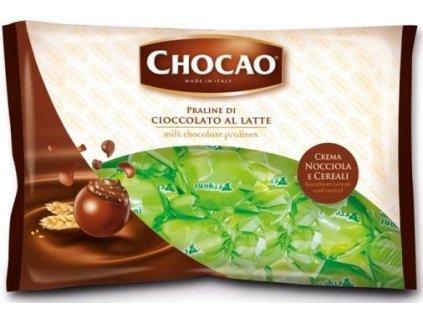 Vergani Čokoládová pralinka Maxi boules zelená 1kg