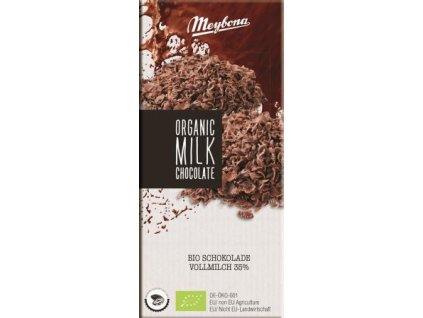 Meybona Bio mléčná čokoláda 100g